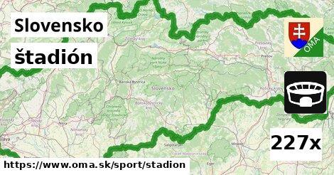 ilustračný obrázok k štadión, Slovensko