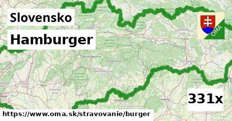 ilustračný obrázok k Hamburger, Slovensko