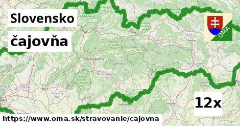 ilustračný obrázok k čajovňa, Slovensko