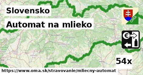 ilustračný obrázok k Automat na mlieko, Slovensko