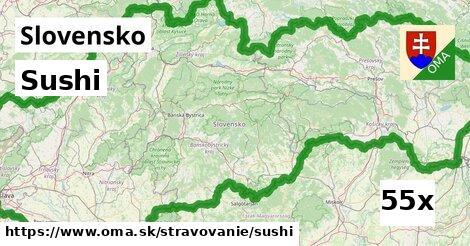ilustračný obrázok k Sushi, Slovensko