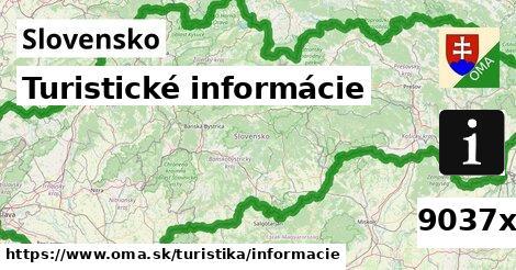 ilustračný obrázok k Turistické informácie, Slovensko
