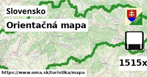 ilustračný obrázok k Orientačná mapa, Slovensko