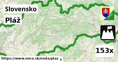 ilustračný obrázok k Pláž, Slovensko