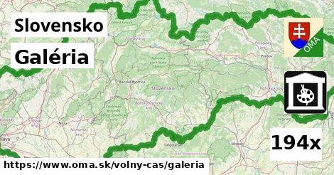ilustračný obrázok k Galéria, Slovensko