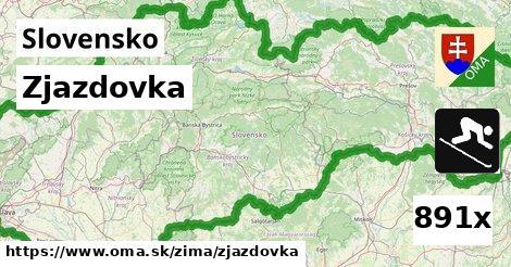 ilustračný obrázok k Zjazdovka, Slovensko