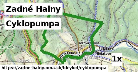 cyklopumpa v Zadné Halny