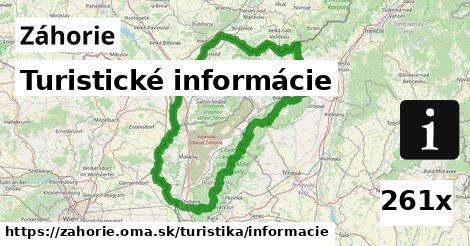 Turistické informácie, Záhorie