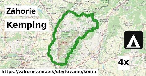 ilustračný obrázok k Kemping, Záhorie