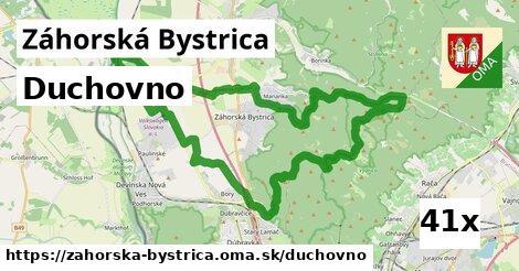 duchovno v Záhorská Bystrica