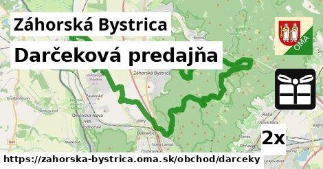 darčeková predajňa v Záhorská Bystrica