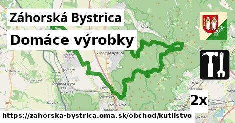 domáce výrobky v Záhorská Bystrica