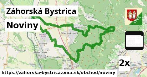 noviny v Záhorská Bystrica