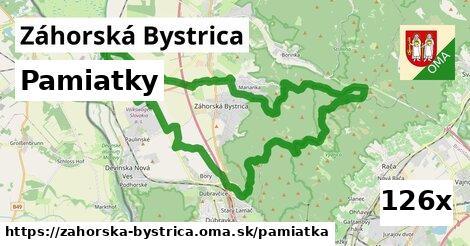 pamiatky v Záhorská Bystrica
