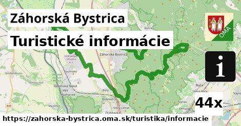turistické informácie v Záhorská Bystrica