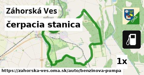 ilustračný obrázok k čerpacia stanica, Záhorská Ves