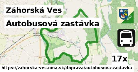 ilustračný obrázok k Autobusová zastávka, Záhorská Ves