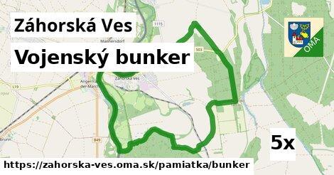 ilustračný obrázok k Vojenský bunker, Záhorská Ves