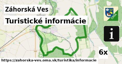 ilustračný obrázok k Turistické informácie, Záhorská Ves