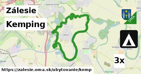 Kemping, Zálesie