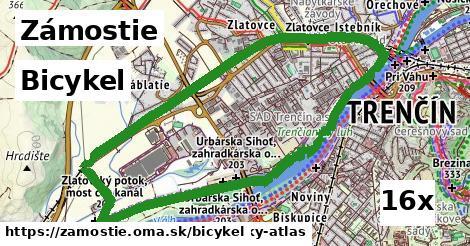 bicykel v Zámostie