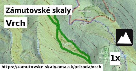 ilustračný obrázok k Vrch, Zámutovské skaly