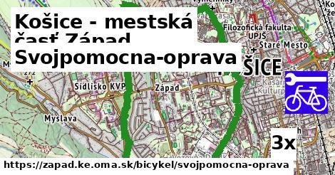 svojpomocna-oprava v Košice - mestská časť Západ