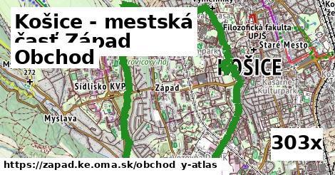 obchod v Košice - mestská časť Západ