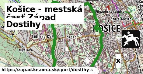 dostihy v Košice - mestská časť Západ