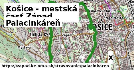 palacinkáreň v Košice - mestská časť Západ