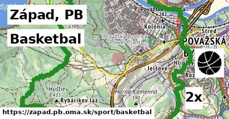 basketbal v Západ, PB