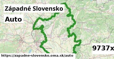 auto v Západné Slovensko