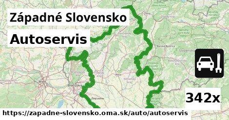 autoservis v Západné Slovensko
