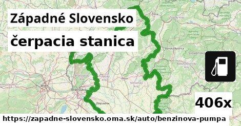 čerpacia stanica v Západné Slovensko