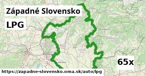 LPG v Západné Slovensko