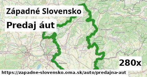 predaj áut v Západné Slovensko