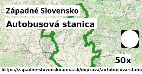 autobusová stanica v Západné Slovensko