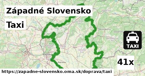 taxi v Západné Slovensko