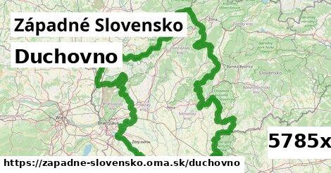 duchovno v Západné Slovensko