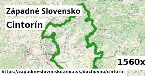 cintorín v Západné Slovensko