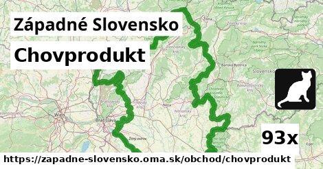 chovprodukt v Západné Slovensko