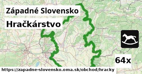 hračkárstvo v Západné Slovensko