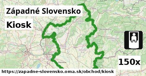 kiosk v Západné Slovensko