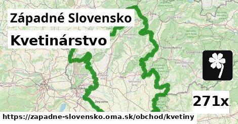 kvetinárstvo v Západné Slovensko