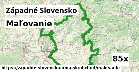 maľovanie v Západné Slovensko
