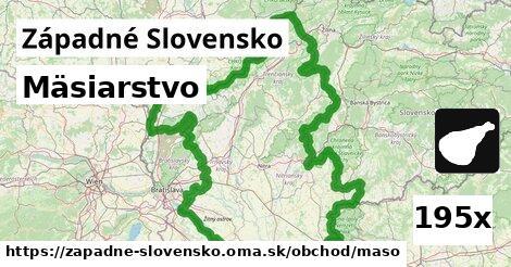 ilustračný obrázok k Mäsiarstvo, Západné Slovensko