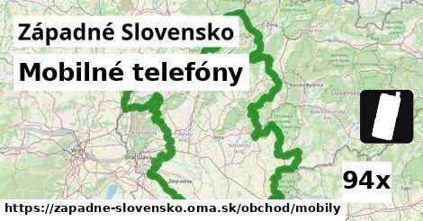 mobilné telefóny v Západné Slovensko