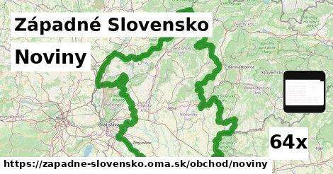 noviny v Západné Slovensko