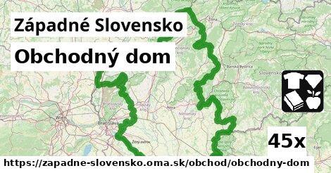 obchodný dom v Západné Slovensko