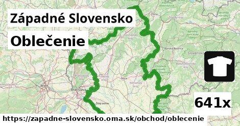 oblečenie v Západné Slovensko